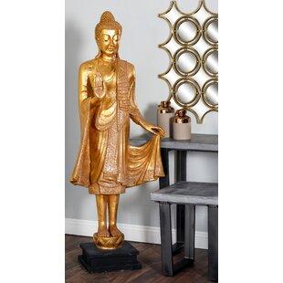 Polystone Floor Buddha Statue