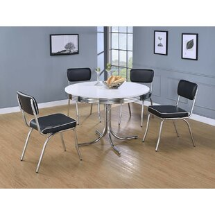 Yother 5 Piece Dining Set by Orren Ellis