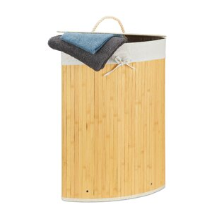 Bamboo Laundry Bin By House Of Hampton
