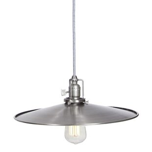 Gracie Oaks Edgar Contemporary 1-Light Co..
