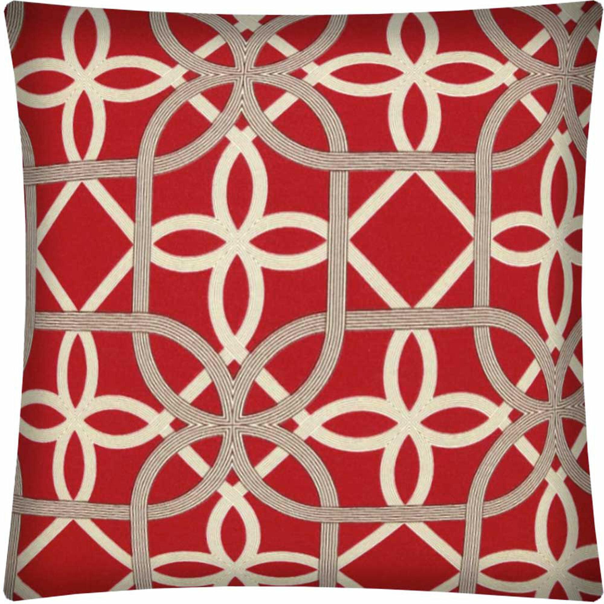 House Of Hampton Lynelle Zippered Indoor Outdoor Pillow Cover Wayfair