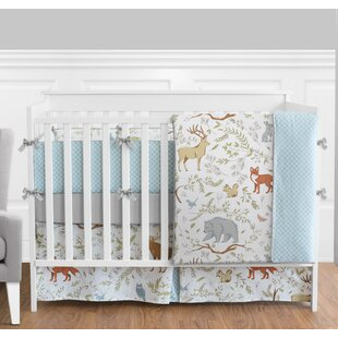 Price comparison Woodland Toile 9 Piece Crib Bedding Set By Sweet Jojo Designs