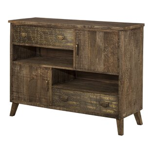 Elk Falls 2 Drawer Accent Cabinet by Bungalow Rose