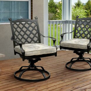 Darby Home Co Kipling Patio Chair with Cu..