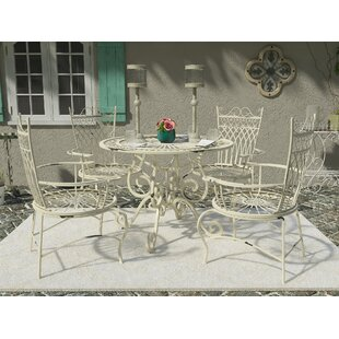 Lamarre 5 Piece Outdoor Dining Set by Lark Manor