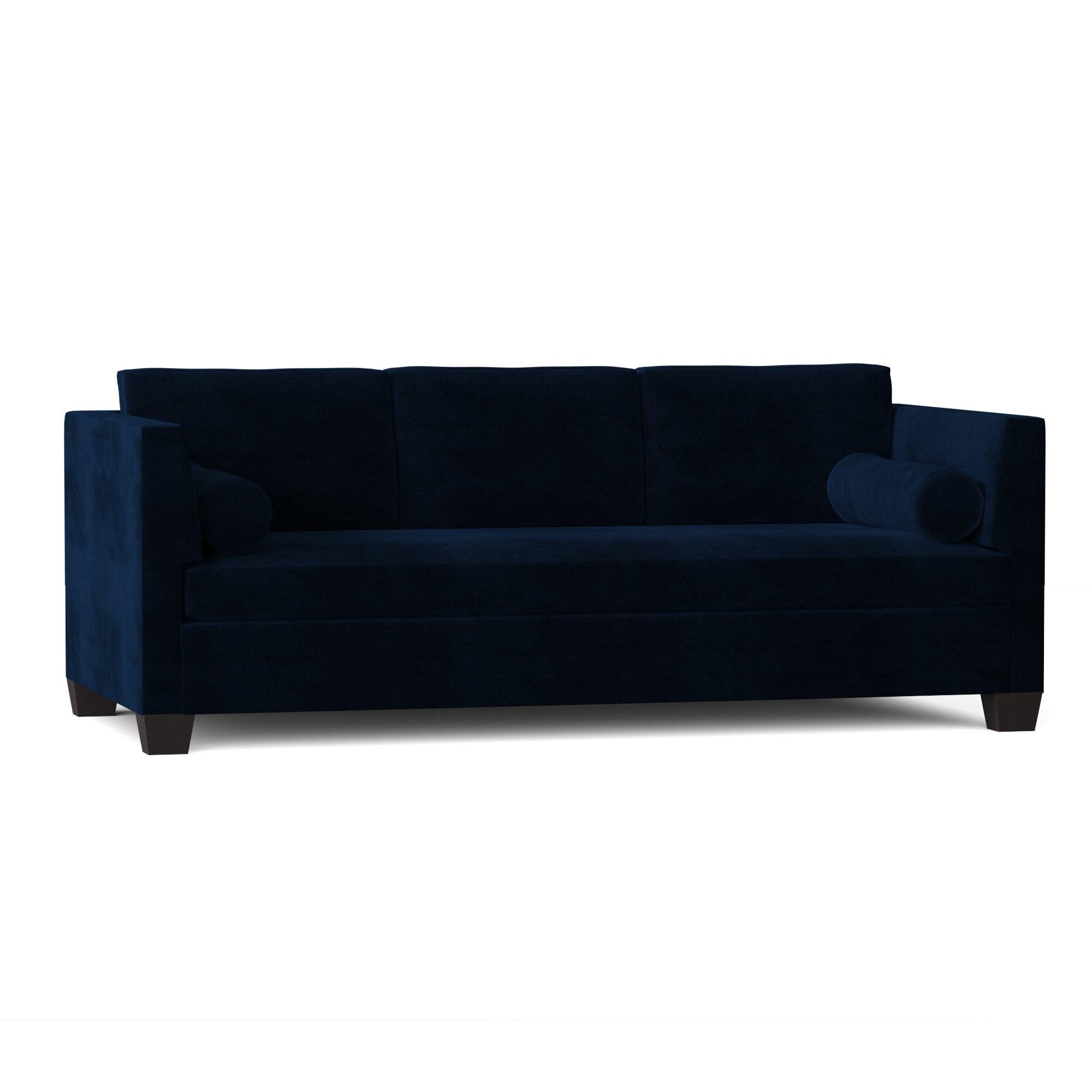 Duralee Furniture Sutton 64 Square Arm Sofa Wayfair