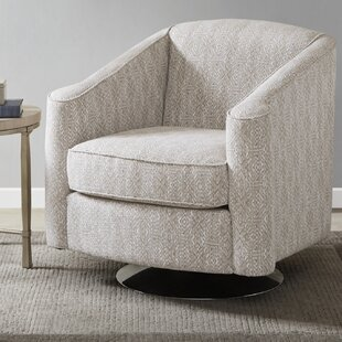 Weddington Swivel Armchair by Bungalow Rose