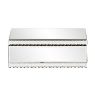 Affordable Mirrored Jewelry Box ByHouse of Hampton
