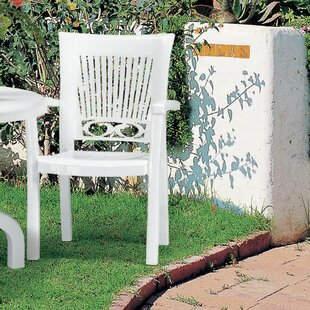 Kali Top High Back Outdoor Stacking Dining Chair By Sol 72 Outdoor