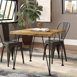 Tindley Indoor Acacia Wood Dining Table Williston Forge