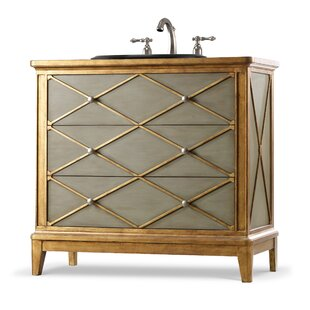 Buy clear Designer Series 42 Lauren Hall  Single Bathroom Vanity Base Only ByCole + Company