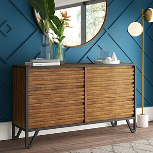 Bourdon Stacked Wood 6 Drawer Double Dresser by Mercury Row