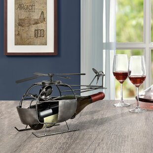 Lincolnshire Helicopter 1 Bottle Tabletop Wine Rack By Williston Forge