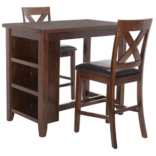 Renwick 3 Piece Pub Table Set