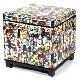 Magazine Storage Ottoman by Loni M Designs