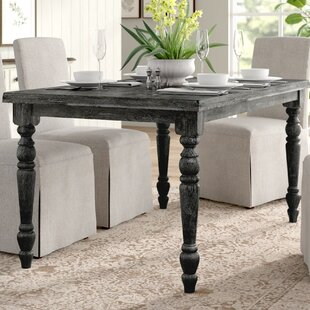 Sandiacre Rectangular Dining Table Three Posts
