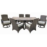 Destiney 7 Piece Dining Set with Cushions