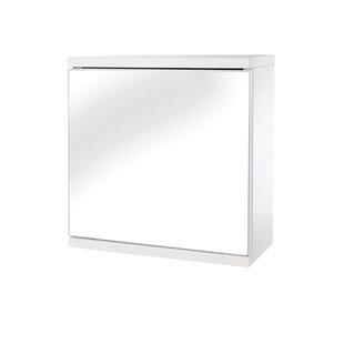 Klos Single Door 118 x 118 Surface Mount Medicine Cabinet by Ebern Designs