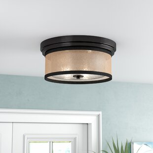 Beachcrest Home Shalisa 2-Light Flush Mount