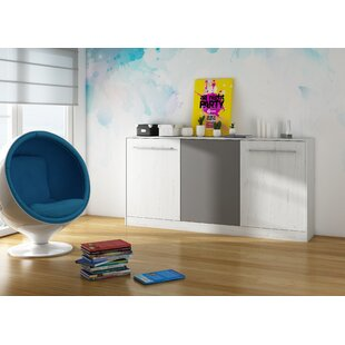 Aco European Single (90 X 200cm) Murphy Bed By 17 Stories