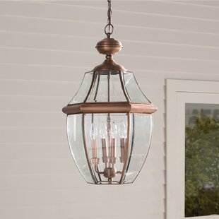 Washington Mews 4-Light Outdoor Hanging Lantern