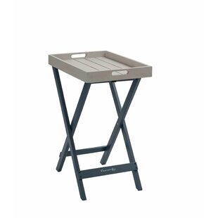 Review Sumlin Folding Wooden Bistro Table