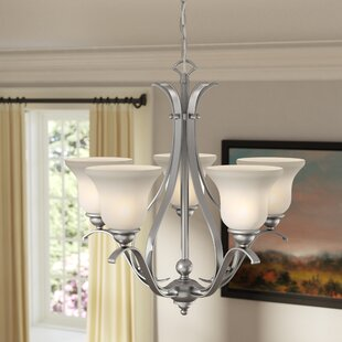 Enfield 5-Light Shaded Chandelier