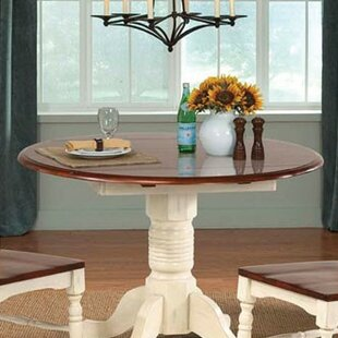 Shelburne 5 Piece Drop Leaf Solid Wood Dining Set Laurel Foundry Modern Farmhouse