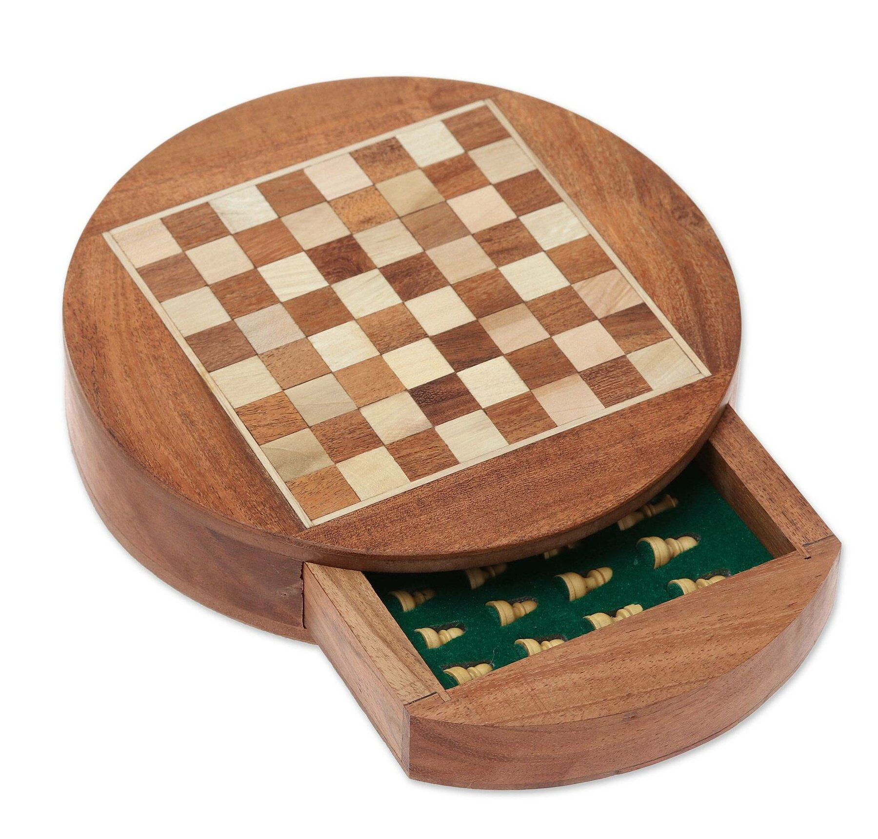 Bloomsbury Market Cochranville Brain Power Wood Chess Wayfair Ca