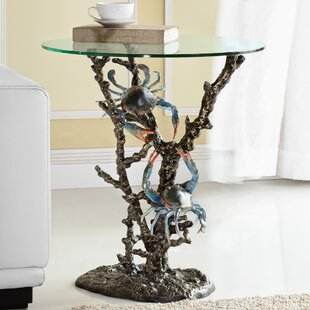 Check Prices Crabs and Coral End Table By SPI Home