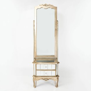 Hassan Dressing Table With Mirror By Willa Arlo Interiors