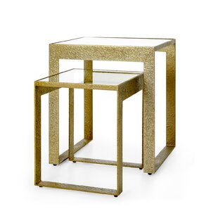 Plano 2 Piece Nesting Tables