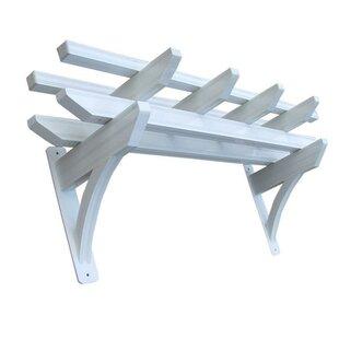 5 Ft. W x 2 Ft. D Aluminum Pergola by DC America