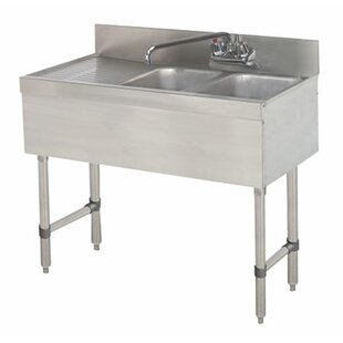 free standing sink. Free Standing Bar Sink With Faucet A