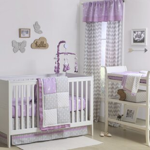 Wild And Free Patchwork 4 Piece Crib Bedding Set