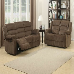 Mortenson Contemporary 2 Piece Reclining Living Room Set