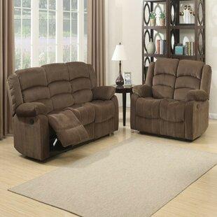 Mortenson Contemporary 2 Piece Reclining Living Room Set