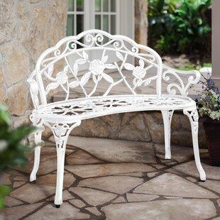 Melitta Metal Garden Bench by Ophelia & Co.