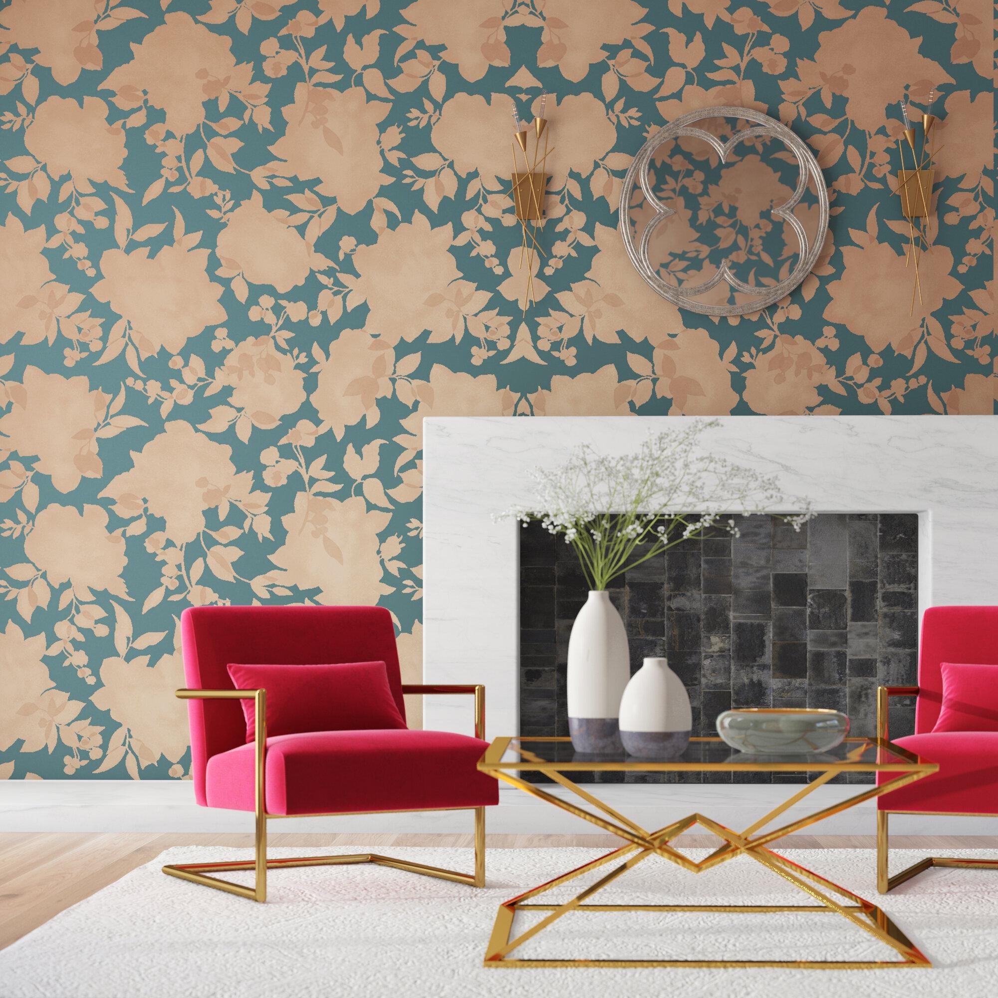 foto de Floral & Botanical Wallpaper You'll Love in 2020 | Wayfair