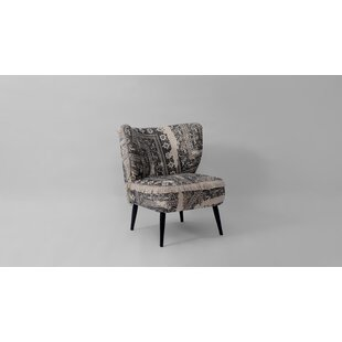 Rincon Upholstered Barrel Chair by Bungalow Rose