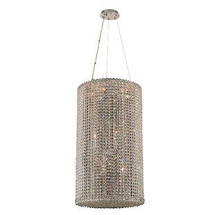Allegri by Kalco Lighting Torre 12-Light Crystal Chandelier