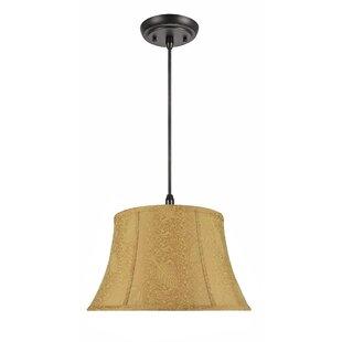 Laila 2-Light Bell Pendant by Winston Porter