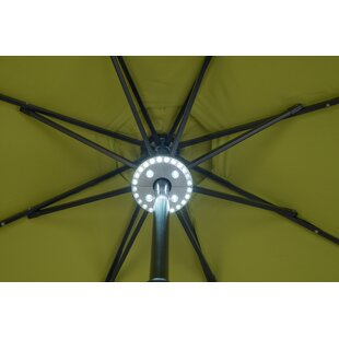 Cheyanne 28 LED Patio 3 Level Dimming Umbrella Lighting