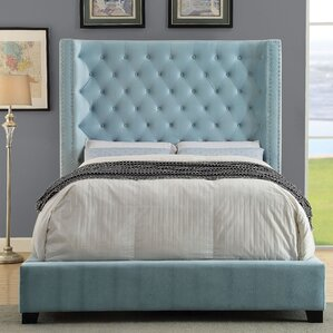 Steph Upholstered Panel Bed by Willa Arlo Interiors