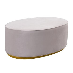 Karin Scarlett Blush Ottoman by Everly Quinn