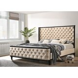 Northwich Tufted Upholstered Standard Bed by Rosdorf Park