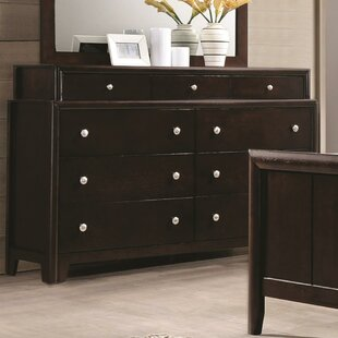 Pagoda 9 Drawers Double Dresser