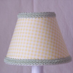 Gingham 11 Fabric Empire Lamp Shade