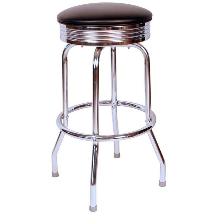Terrific Retro Home 30 Swivel Bar Stool Ocoug Best Dining Table And Chair Ideas Images Ocougorg
