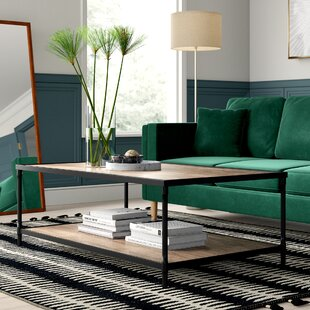 Hera Coffee Table with Tray Top by Mercury Row
